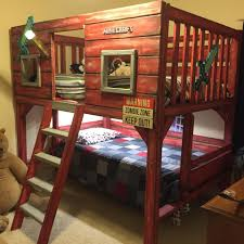 Ana White Bunk Bed Plans by Ana White Clubhouse Minecraft Diy Projects