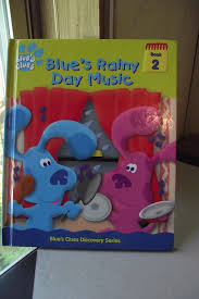 blues clues blues rainy music book 2 discovery series shake