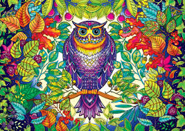 forest owl jigsaw puzzle puzzlewarehouse com