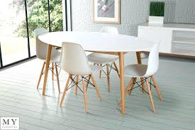 Gloss White Dining Table And Chairs Oval White Dining Table And Chairs Wonderful High Gloss Dining