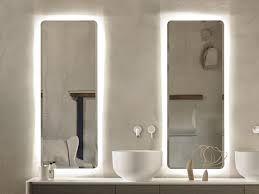 origin mirror with integrated lighting by inbani design seung