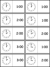 telling time worksheets enchantedlearning com