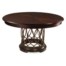 Dark Wood Round Dining Table Home Kitchen Tables Dining Tables - Black dining table with wood top