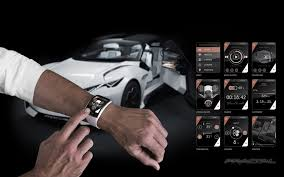 peugeot fractal 2015 peugeot fractal concept smartwatch remote 2 1680x1050