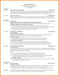 Sample Resume Harvard by Resume Arlington Collegiate High Sample Resume For