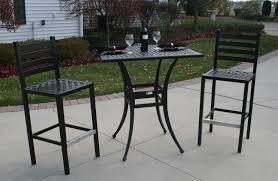 Bar Height Patio Dining Set - patio furniture bar height set home design ideas