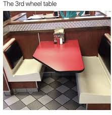 3rd Wheel Meme - the 3rd wheel table table meme on sizzle