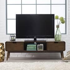Mid Century Modern Baseboard Trim Belham Living Carter Mid Century Modern Tv Stand Tv Stands At