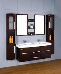 Bathroom Vanity Two Sinks Double Sink Floating Bathroom Vanity Brightpulse Us