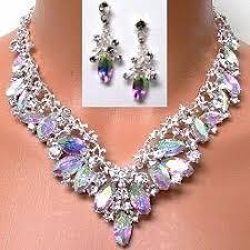 rhinestone necklace sets wholesale images 52 best wholesale crystal jewelry images crystal jpg