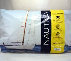 nautica bed pillows nautica firm jumbo twin pack set of 2 standard bed pillows 20 x 28