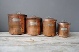 copper kitchen canisters 21 rustic kitchen canisters labeled kitchen canister coffee