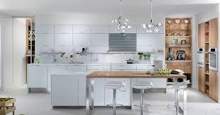 cuisines blanches et bois la cuisine blanche eclat de perene
