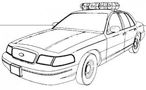 free police car coloring pages print 77745