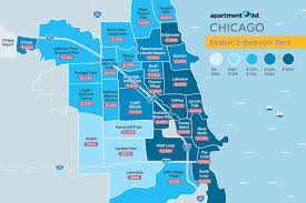 Neighborhood Map Of Chicago by Chicago Renters Give City A B Minus In Overall Satisfaction With