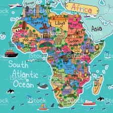 Congo Africa Map Africa Map Stock Vector Art 539120926 Istock