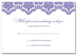 wedding reply cards wedding reply cards simple in wedding stationery