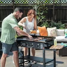 Barbecue Gaz Occasion by Blackstone 4 Burner 60 000 Btu Cooking Station Propane Gas Griddle