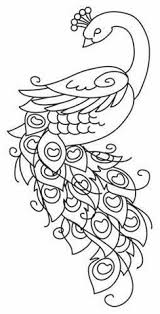 peacock coloring page peacocks pinterest peacocks