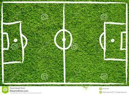 hand drawn soccer field stock photo image 50768183