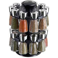 Spice Rack Countertop Amazon Com Cole U0026 Mason Herb And Spice Rack With Spices