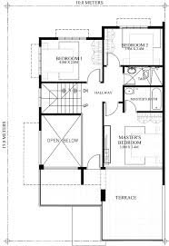 house plans with balcony 2 storey house plans with balcony