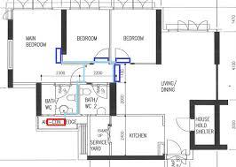 typical hdb aircon and piping layout jex aircon