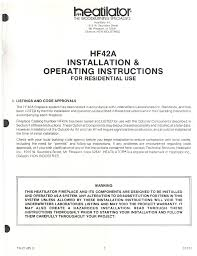 heatiator indoor fireplace hf42a user guide manualsonline com