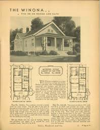 Sears Kit House Plans by The Evolution Of The Winona By Sears Architectural Observer