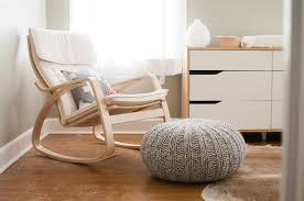 furniture simple and elegant white rocking chair for nursery nu