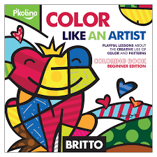 britto garden britto color like an artist coloring book figures amazon canada