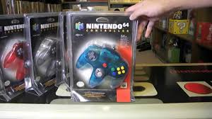 n64 price guide full set of sealed n64 controllers youtube