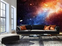 photo wallpaper wall murals non woven space galaxy modern art zoom