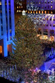 rockefeller tree lighting attracts thousands krqe news 13