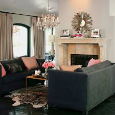 Modern Sofa Living Room Charcoal Gray Sofa Design Ideas