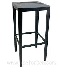 outdoor aluminum bar stools backless outdoor aluminum bar stool for restaurants and bars
