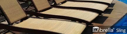 Patio Chair Material Sunbrella Sling Fabric Patio Lane