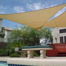 shade sail triangle 11 u002710 garage top dreams pinterest