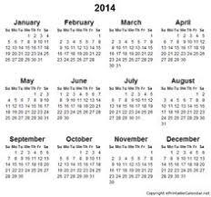 printable calendar yearly 2014 academic calendar template back to school pinterest academic