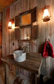 Rustic Bathroom Lighting Ideas Captivating Rustic Bathroom Lighting Ideas 1000 Ideas About Small