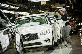 used lexus jeep in japan 2018 infiniti q50 begins production in japan motor trend