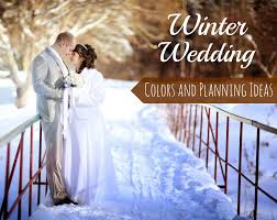 winter wedding colors and planning ideas wedding favors