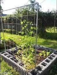Garden Trellis Netting Plant Trellis Nylon Netting Net Mesh Growing Vegetable Support