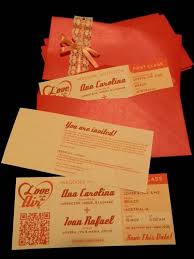 goes wedding unusual trip ticket wedding invitations