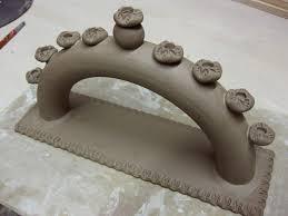 ceramic menorah gary jackson when ready pottery