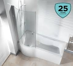 left right hand p shaped shower bath bathroom 1500 1675 1700 with