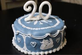 20th wedding anniversary 20th wedding anniversary china wedgwood cake the cake