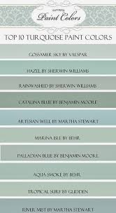 my top ten turquoise paint colors favorite paint colors paint