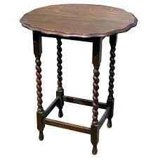 antique spindle leg side table spindle tables oval oak leg side table for sale end nicolegeorge