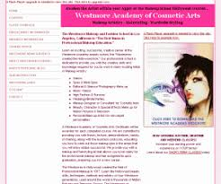 westmore makeup school westmoreacademy westmore academy of cosmetic arts